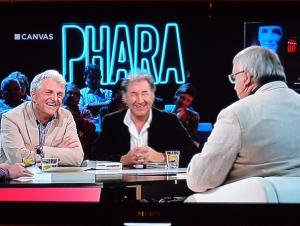 Samen met Jan De Smet en Marc Didden (rechts) bij Phara.