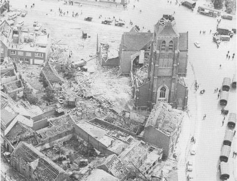 Het provinciale Rampenfonds werd opgericht in 1967 toen een tornado Oostmalle verwoestte.