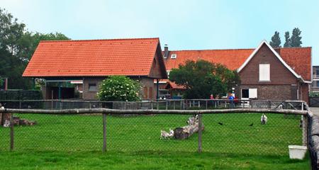 Naast een sprookjeshuis (zie miniatuurfoto naast de inleiding) is er op De Schranshoeve ook een kinderboerderij.
