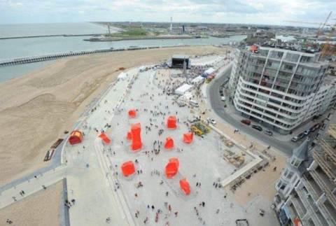 Marc Jambers over de beeldengroep van Arne Quinze op het Zeeheldenplein: 'Een zonevreemde installatie'.