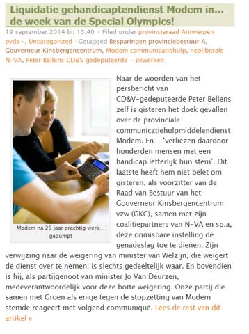 blog provincieraad KM8a